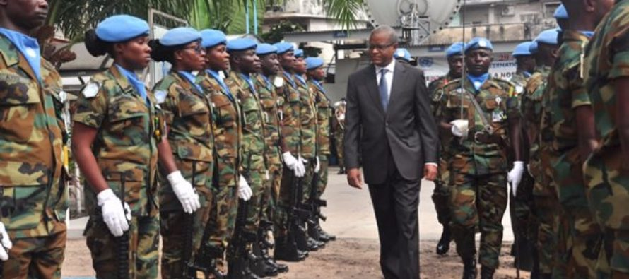 Ghanaian peacekeepers in DR Congo commemorates UN Peacekeepers Day
