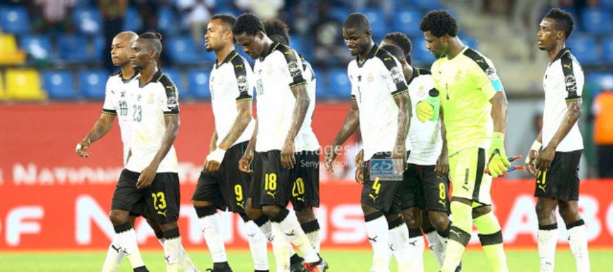 Ghana drops four places in FIFA Ranking