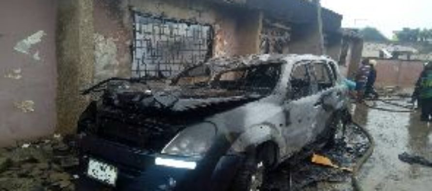 Fire guts five bedroom house at Abrepo Highways
