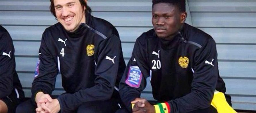Ghanaian players in Sweden show solidarity with convicted Bonsu