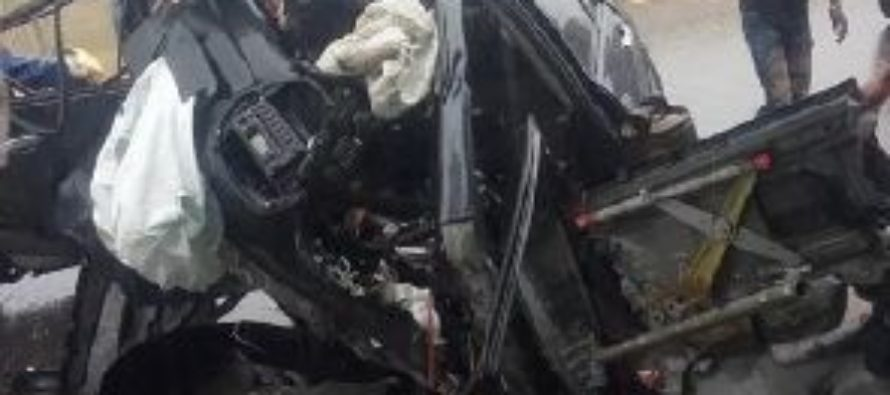 Terrible accident occurs on NI Highway in Accra