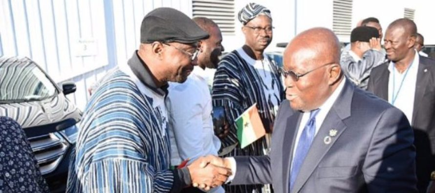 Akufo-Addo in New York for High-Level United Nations meeting