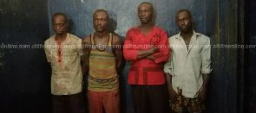 7 suspects get 2-weeks remand over Captain Mahama's murder