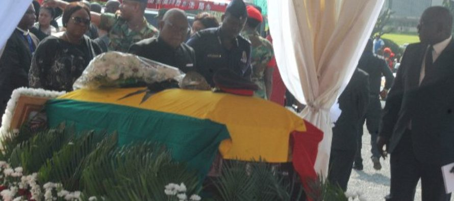 Photos: Late Major Mahama on his major route out of earth