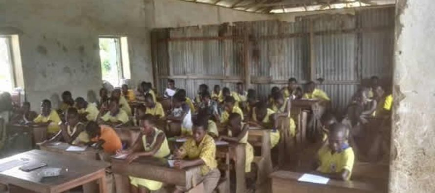 Resettling Breman pupils in leaky roof, cracked building is temporary- DCE