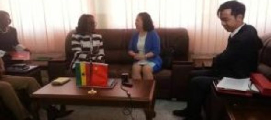 Chinese Embassy donates GHC10,000 to Attorney General's
