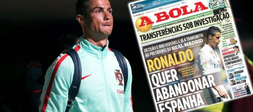 Cristiano Ronaldo 'tells Real Madrid he wants to quit Spain', decision is 'irreversible'