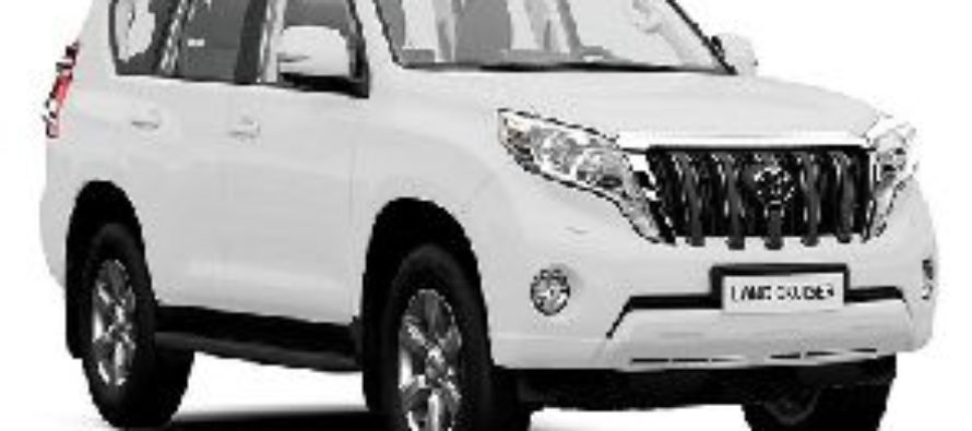 Toyota Land Cruiser gone missing at Trade Ministry
