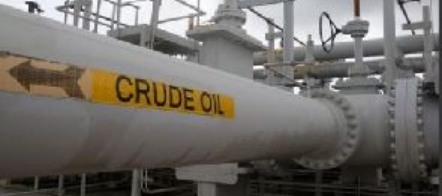 Crude Oil production declined in 2016