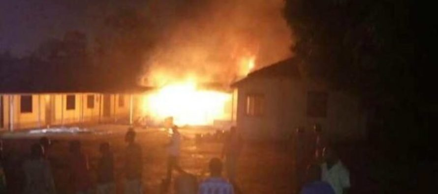 Fire ravages GBC stores