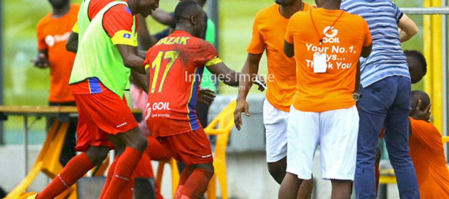 Hearts of Oak restore pride with 4-0 win over Bolga All Stars