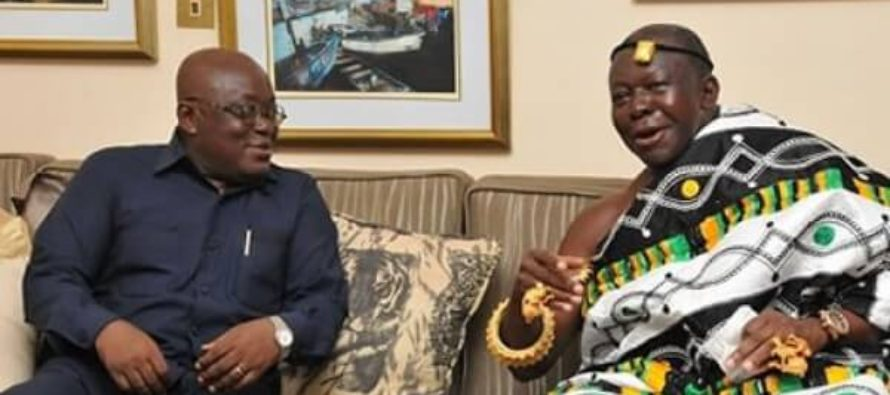 Make Land Available for Govt's One-District One-Factory – Otumfuo