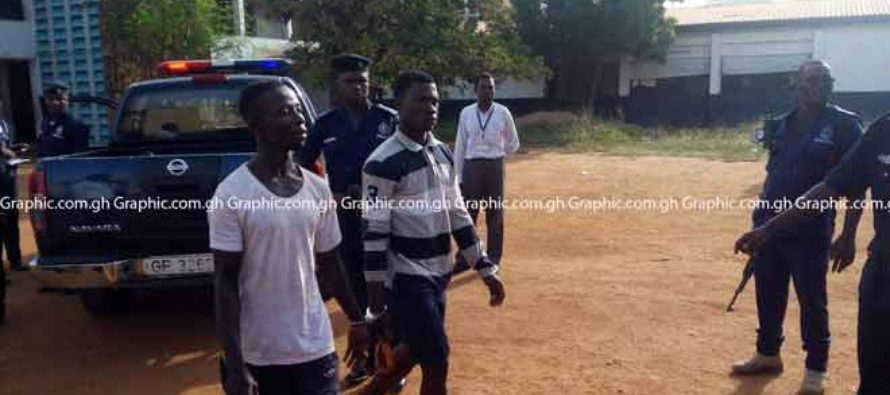 44 suspects in police grip for Captain Mahama's killing (photos)