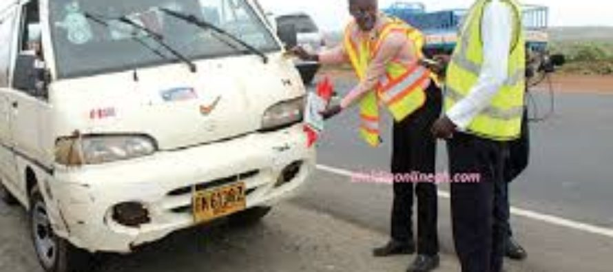 Driver fined GH¢600 for traffic offences