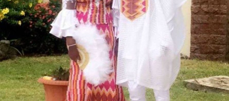 PHOTOS +VIDEOS from Stonebowy and Dr Louisa's wedding ceremony
