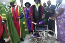 Anastasia's tortuous journey to academic excellence; physically challenged but intellectually endowed