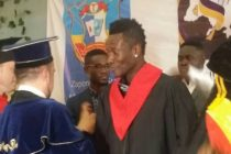 Asamoah Gyan gets honorary doctorate award
