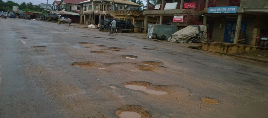 "Prof. Yankah salutes residents along Eastern Corridor for enduring ""most crooked"" road"