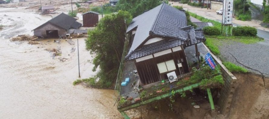 15 perish as Japan is hit with deadly floods and landslides