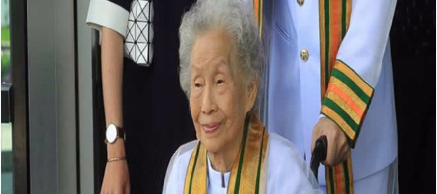 91-year-old woman spends 10 years to earn bachelor's degree