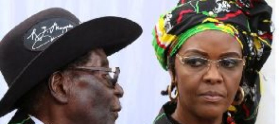 Zimbabwe's Grace Mugabe turns self in to South Africa police over assault