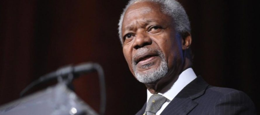 Africans are too tolerant, respectful of 'Leaders for life'– Kofi Annan