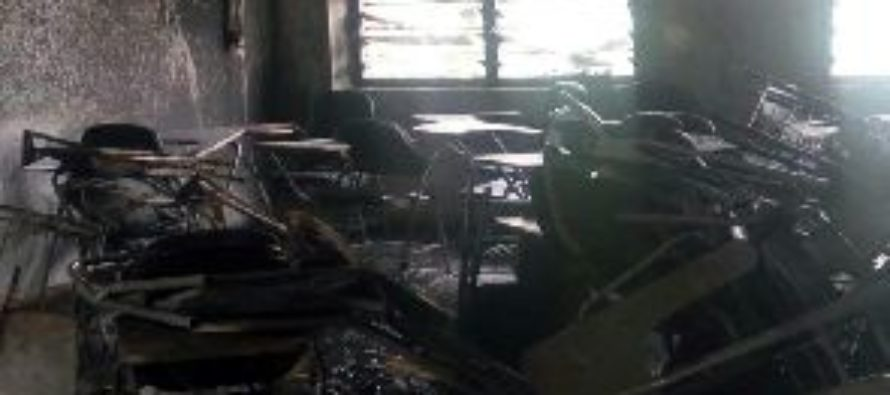 Fire destroys Tamale UDS lecture hall