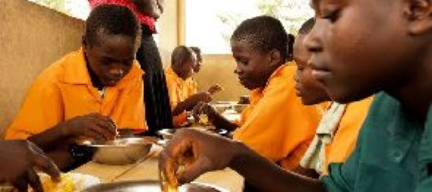 Ghana school feeding caterers clash with MCE