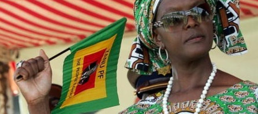 South Africa borders on 'red alert' for Grace Mugabe