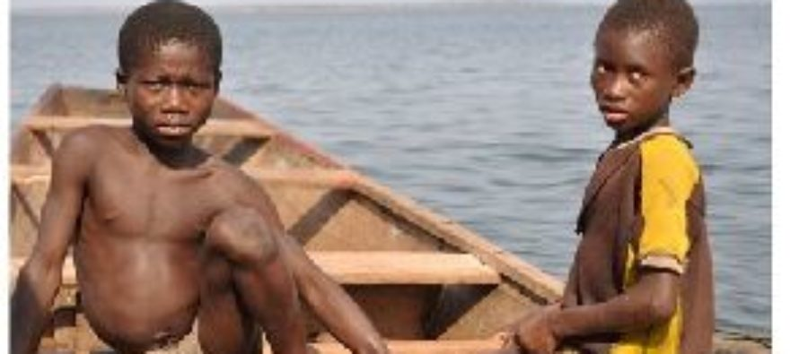NGO rescues two boys from trafficking on the Volta Lake