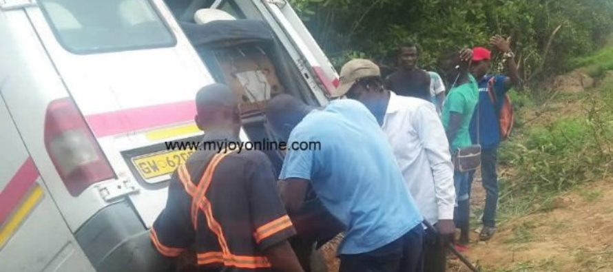 2 missing, 3 others injured after trotro bus plunged into Teshie Lagoon