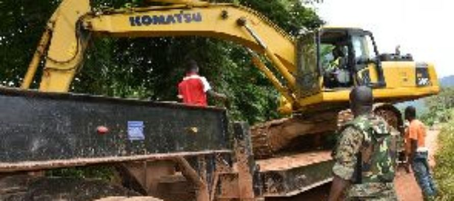 Operation Vanguard withdraws 37 excavators in one week