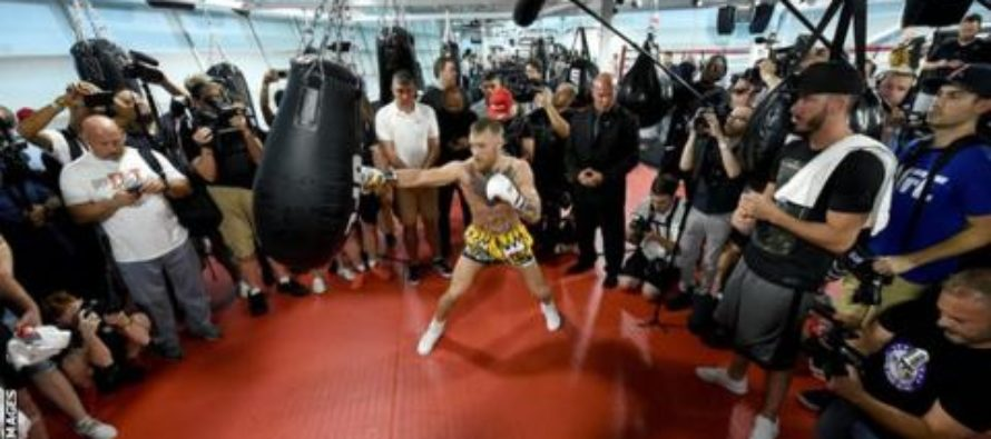 Conor McGregor: Floyd Mayweather is 'scared' of fighting me, says UFC champion