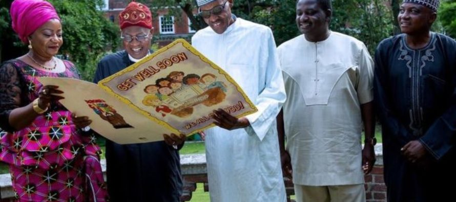 Nigeria's Buhari feels 'ready to go home' after treatment in UK