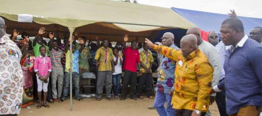 Fertilizer plant to be sited at Jomoro – Akufo-Addo