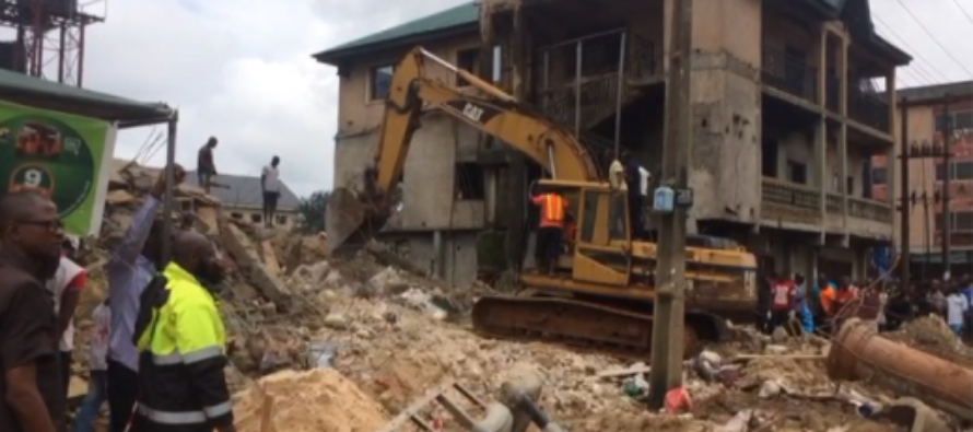 Corps member trapped in Imo collapsed building is dead