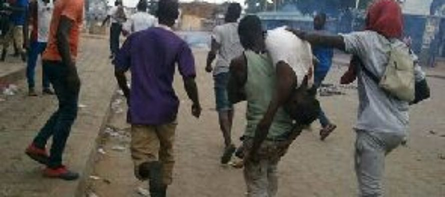Police beat up angry protestors in Togo; 4 killed