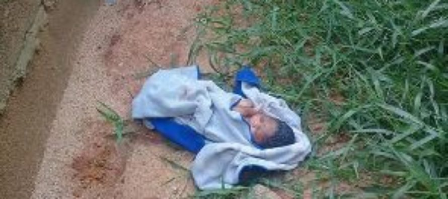 Newborn baby found abandoned in Tamale forest