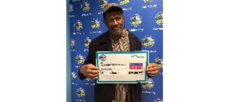 Man finds $24 million lottery ticket in an old shirt just in the nick of time