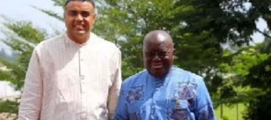 Dag Heward-Mills hosts Nana Addo at Bible Seminary