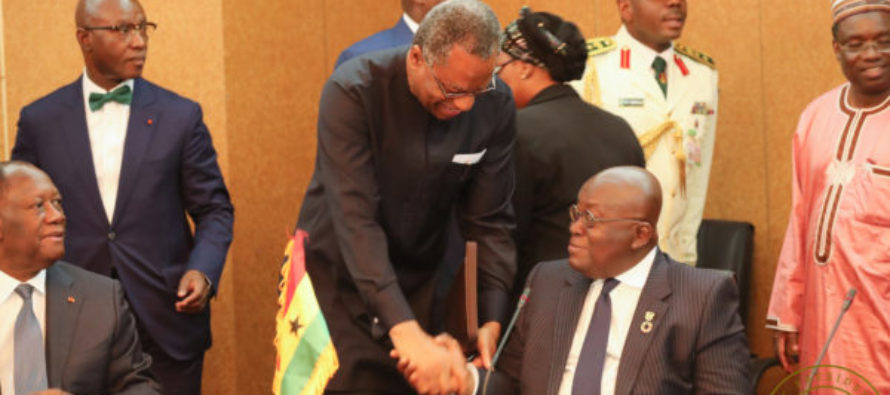 Akufo-Addo attends ECOWAS meeting on common currency in Niger