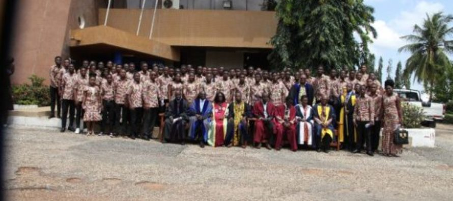 Ghana Technology University College matriculates 1,200 students
