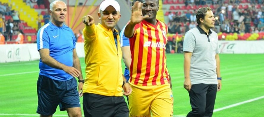 Gyan shocks Fenerbahce with late equaliser in 3-3 draw(VIDEO)
