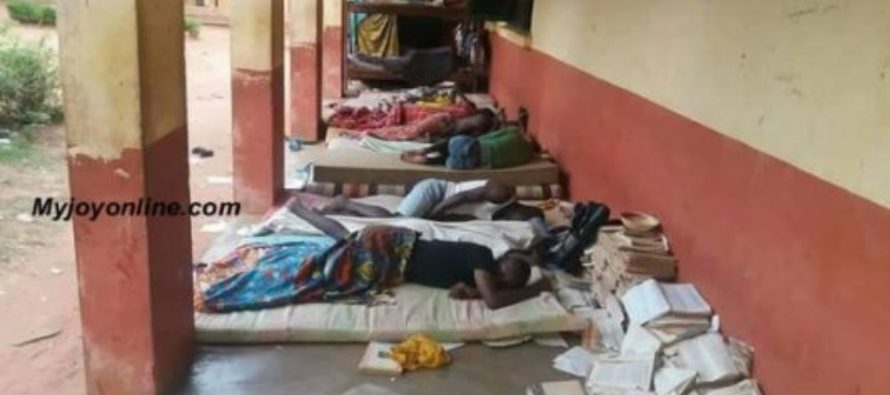 Free SHS challenges: Vitting, Kalipohini students sleep in the open