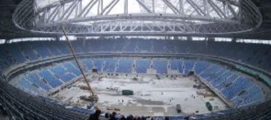 Russian official admits World Cup stadium fraud