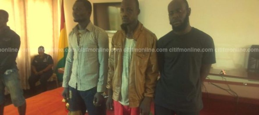 3 arrested in Kumasi for robbing, raping victims
