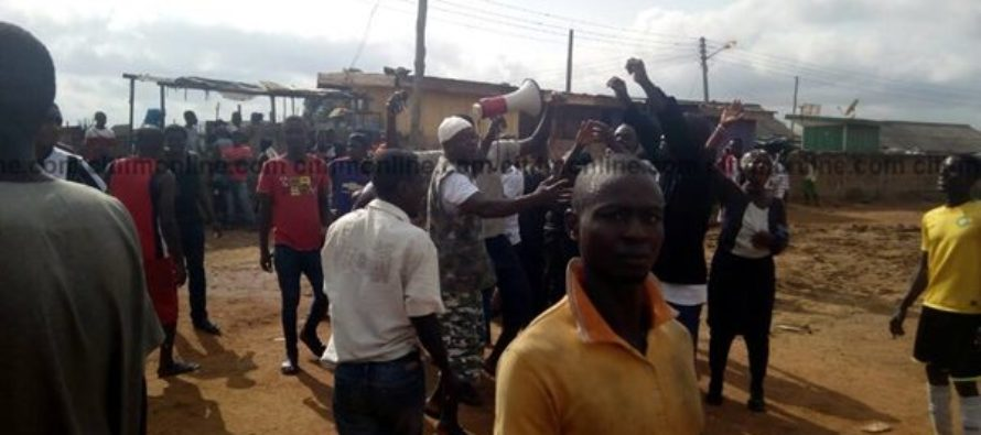 Asawase residents protest siting of bus terminal on school land