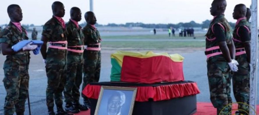 "Kofi Annan's casket covered up as ""sign of his modesty"" – Hadzide"