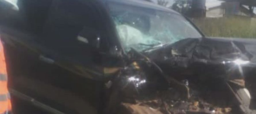 George Andah in ghastly car crash; airlifted to 37
