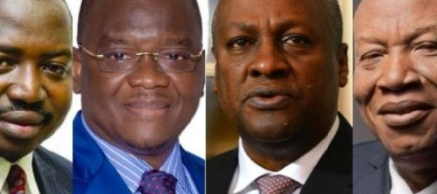 NDC Race: 4 pick nomination forms